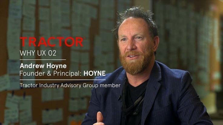 Why designers should UX 02 Andrew Hoyne on Vimeo