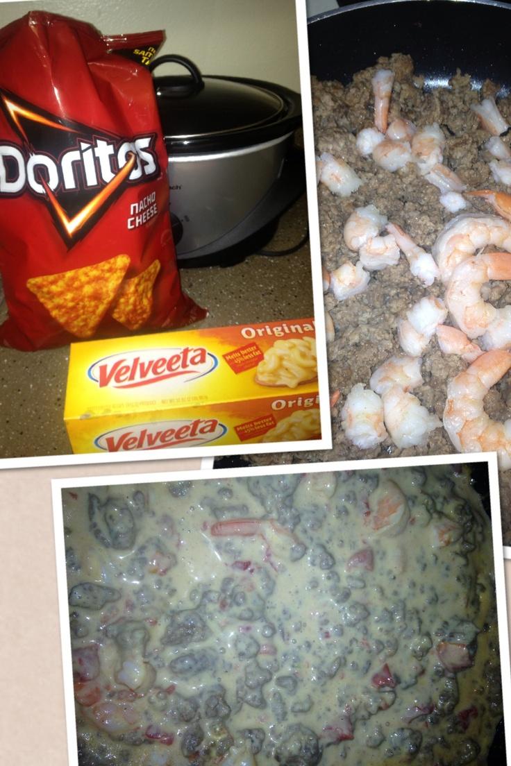 Shrimp Rotel Dip
