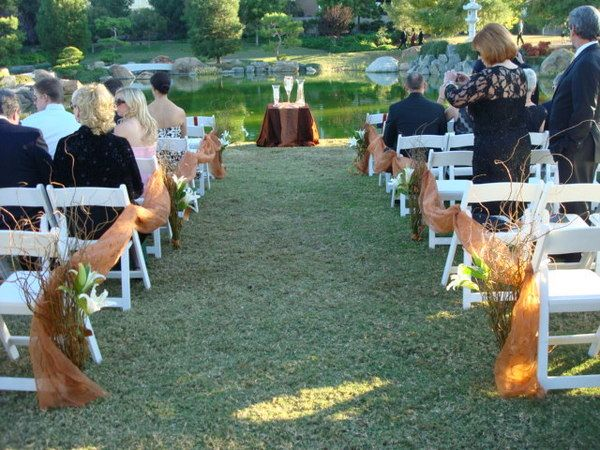 Bride isle decorations | wedding isle decorations - one way into the rows | Wedding Ideas