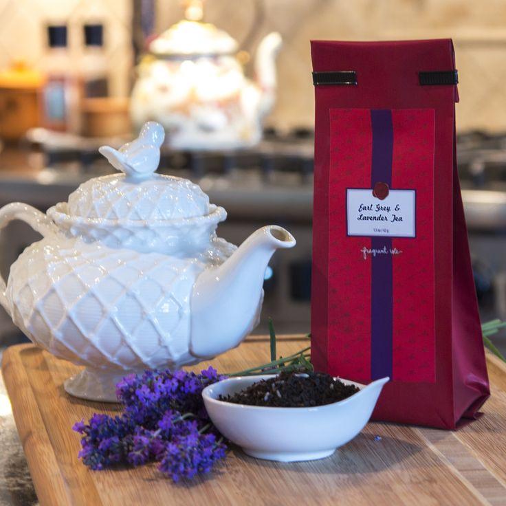 Lavender and Earl Grey Tea