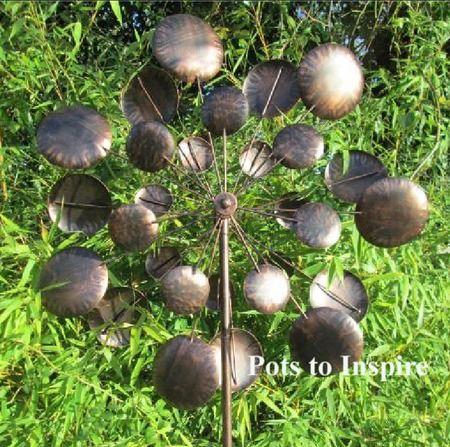 Charming Jonart Wind Spinner Metal Galaxy Garden Bronzed Sculpture   Woodside Garden  Centre   Pots To Inspire