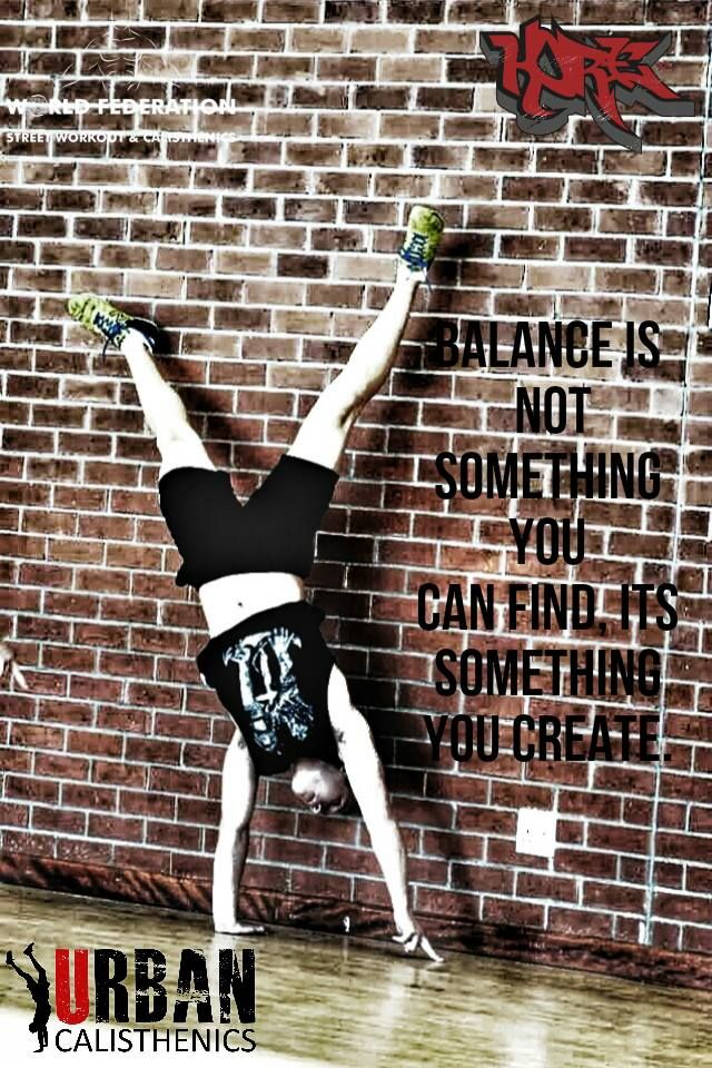 Monday motivation.   Extreme's are easy, strive for true balance.  Tag and share the motivation.  #fitness #urbancal #urbanmotivation #streetworkout #calisthenics #wswcf #kore  www.facebook.com/urbancal