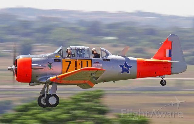 Photo of North American T-6 (SAAF7111) ✈ FlightAware