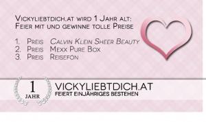 Gewinner vom 1 Jahr Vickyliebtdich Gewinnspiel - http://www.vickyliebtdich.at/gewinner_1_jahr_gewinnspiel/