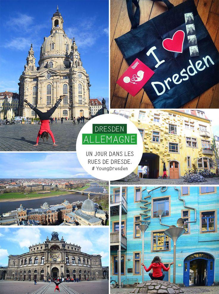 Dresde, c'est un peu le meilleur des deux mondes. D'un côté la vieille ville : l'Altstadt et ses monuments historiques : la grande fresque des princes de Saxe, le palais Zwinger, l'opéra Semper, la Frauenkirche. De l'autre le quartier Neustadt et sa rue qui ne dort jamais, l'Alaunstraße, faisant la part belle au street art !
