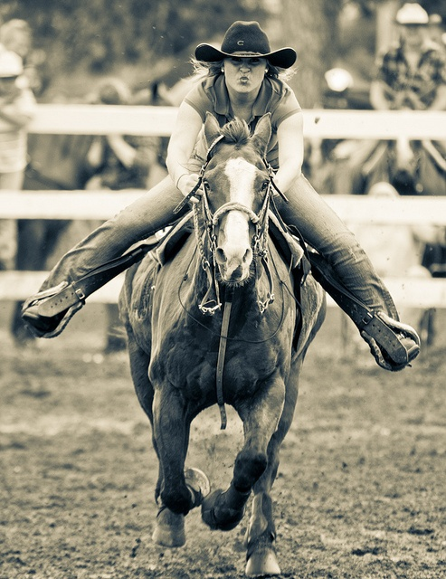 Barrel Racing by Al Braunworth - finally a real rider and not the 'hold on to the horn' bullshit