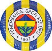 Fenerbahçeli Kağıt Tabak Karton Tabak