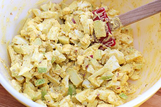 Curry Egg Salad Sandwich   Food   Pinterest