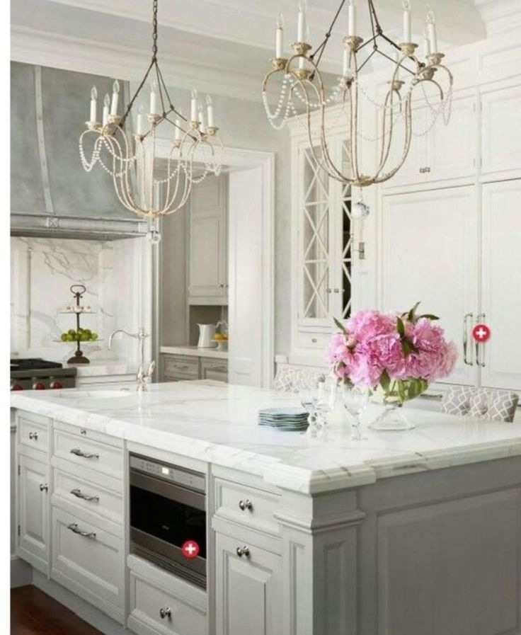 Nice Modern Kitchens: Nice 15 Stunning Modern Marble Kitchen To Inspire You