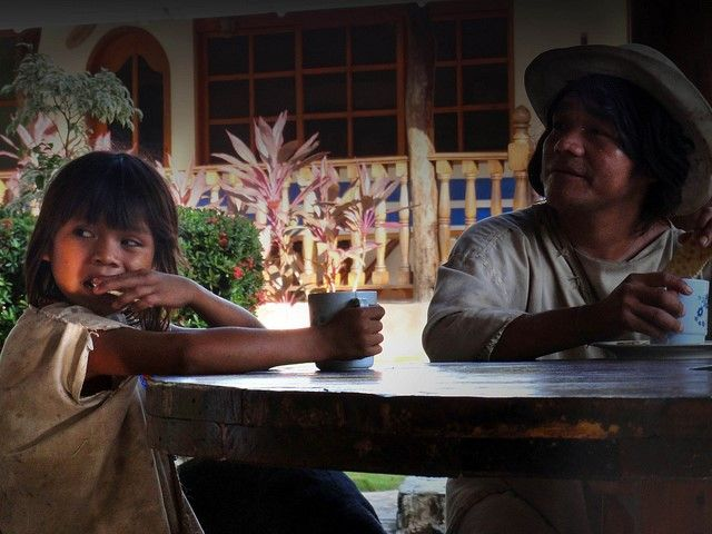 Indigenas Kogui en La Jorara