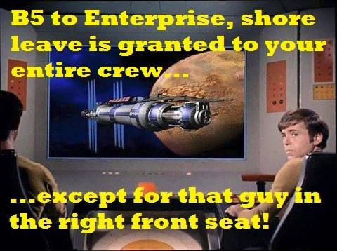 Poor Chekov. It's not his fault he bears a striking resemblance to the station's scourge. ;-)