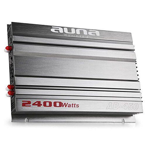 """Equipo sonido 4.0 para coche Platin Line 420 2400W Este sistema de sonido le dará a tu coche 2400W de potencia.El estéreo de coche """"Platin Line 420"""" no compromete la calidad de sonido.Sea cual sea tu estilo de música, los altavoces de 3 vías de 900W van a darle a tu coche un sonido de... http://altavocespara.com/coche/auna/auna-platin-line-420-equipo-de-sonido-para-coche-hifi-1x-amplificador-4-canales-2400w-4x-altavoz-6x9-900w-kit-cables/"""