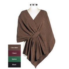 fleece poncho pattern - Google Search