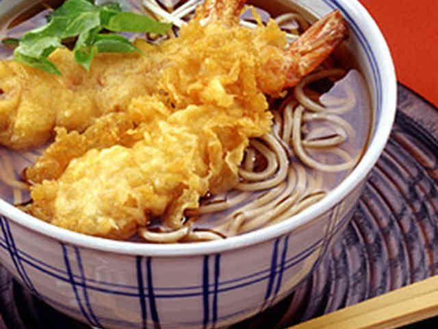 えびの天ぷらそばの画像