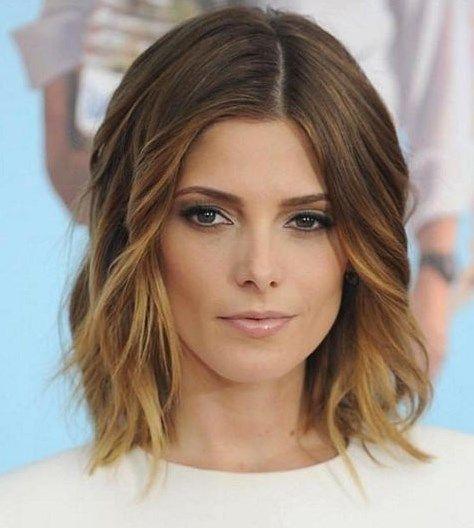 Frisuren mittellang: Schulterlange Haare 2016 – Bilder – Jolie – Einfach zu stylende Frisur