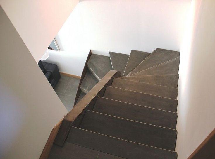 Les 69 meilleures images propos de escalier marche - Beton cire anthracite ...