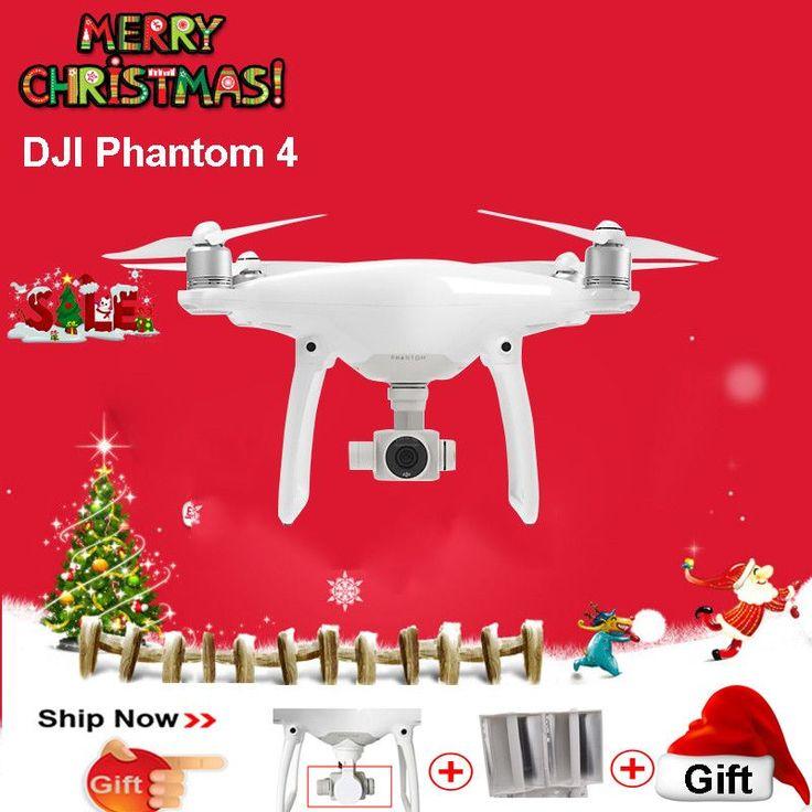 DJI Phantom 4 Drone with 4K Camera and 3 Axis Gimbal for FPV Drone Photographer VS DJI Mavic Pro