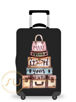 Suit Up Philippines - Luggage Cover, Design your Own Luggage Cover