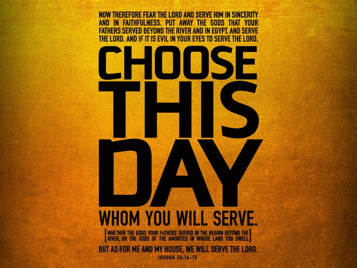 Joshua 24:14-15   Bible Verses   Pinterest   Daily bible, Daily ...