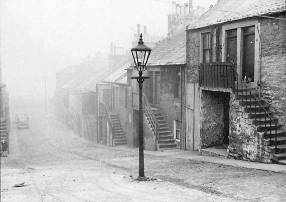 Newhaven  -  A foggy day in the 1950s