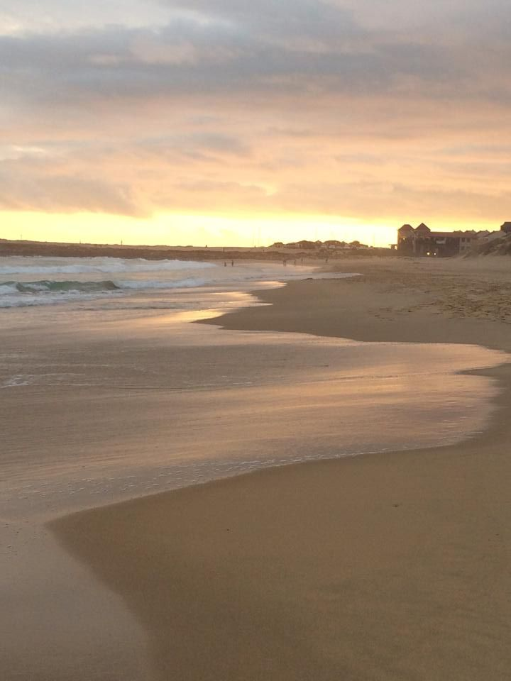 Port Alfred, South Africa - East Beach sunset walk (Dec 2013)