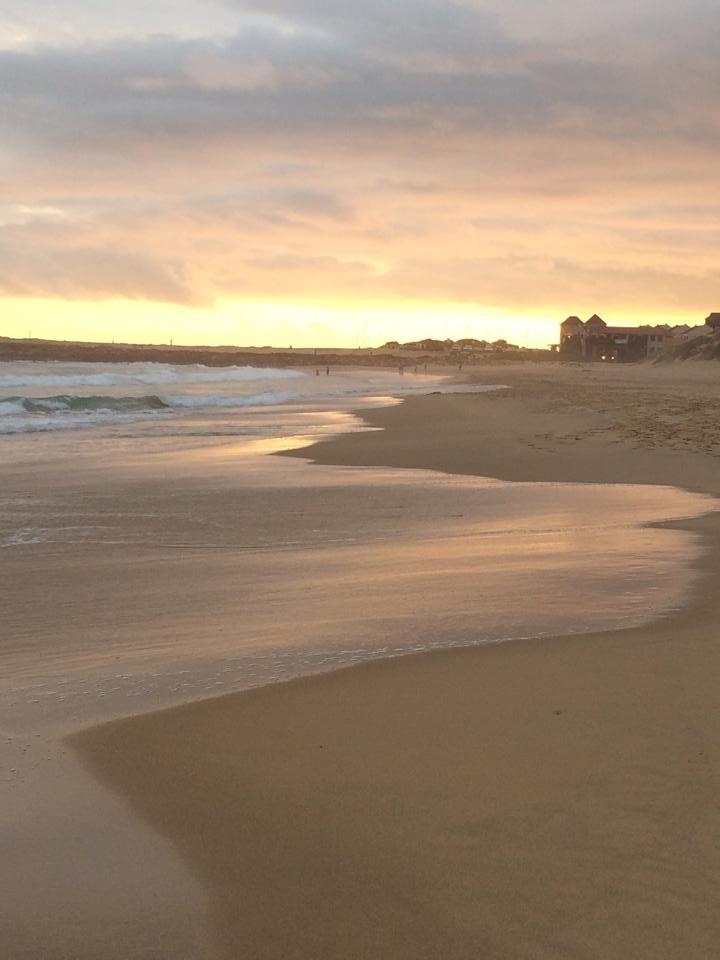 Port Alfred, South Africa - East Beach sunset walk (Dec 2013)
