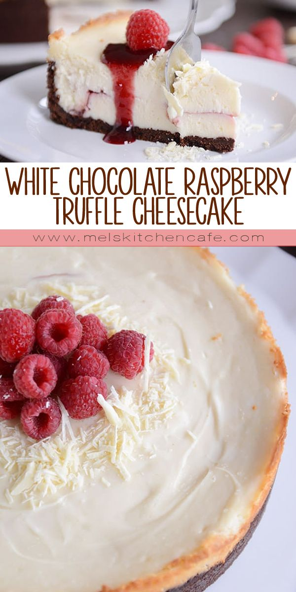 Best cheesecake ever? So good you'll cry? One million times better than any restaurant? Those are all the feels (and more) when it comes to this amazing white chocolate raspberry truffle cheesecake.
