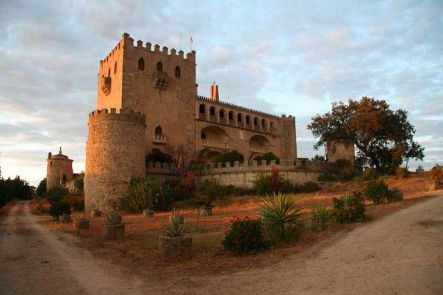 Castillo de Piedrabuena, Badajoz - Spain