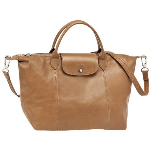 Handbag - Le Pliage Cuir - Handbags - Longchamp - love this bag