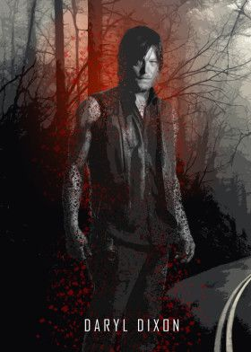 daryl dixon twd the walking dead serie tv comic zombie