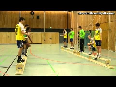 Handebol Treino de passe e coordenação - Handball Pass and Coordination ...