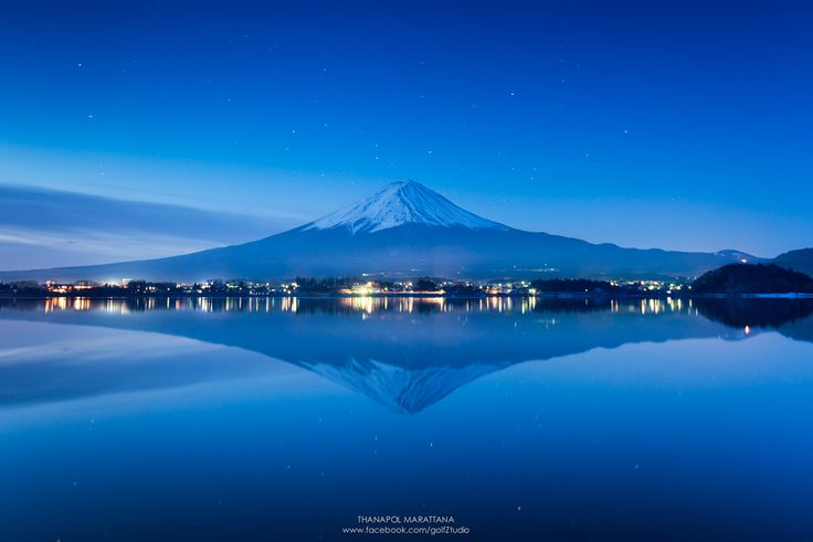 Fuji san by Thanapol Marattana via 500px