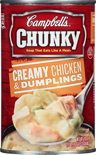 Campbells Chunky Soup Creamy Chicken  Dumplings 188 Ounce *** Read more  at the image link. (Note:Amazon affiliate link) #BestSellerBelow10