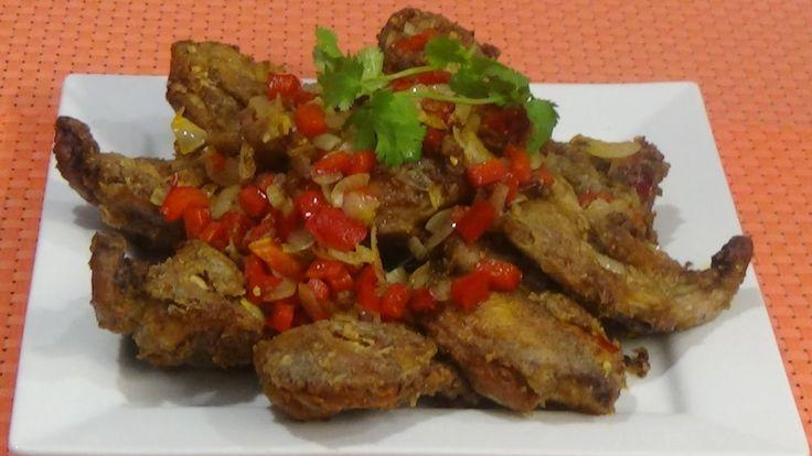 Crispy ,Yummy Salt & Five Spice Fried Quails