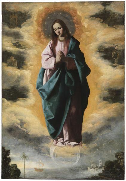 La Inmaculada Concepción - Colección - Museo Nacional del Prado, Madrid by Francisco de Zurbarán