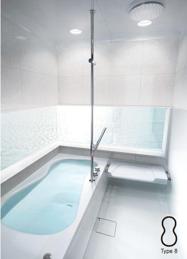 アレンジプラン|Half Bath 08 ハーフバス ゼロハチ|バスルーム:TOTO