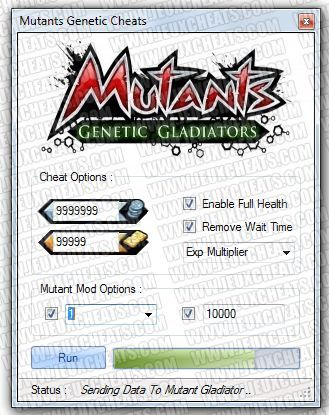 New mutants genetic gladiator cheats has been released from our elite coder. Easily get your free credits and gold in no time and level up fast your mutant