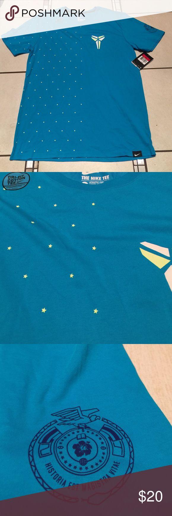 NWT Nike Kobe shirt. PRICE FIRM ❗ NWT Men's Nike Kobe blue with stars Nike Shirts