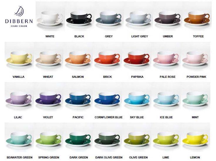 TableArt::Dinnerware::Dibbern::Solid Color