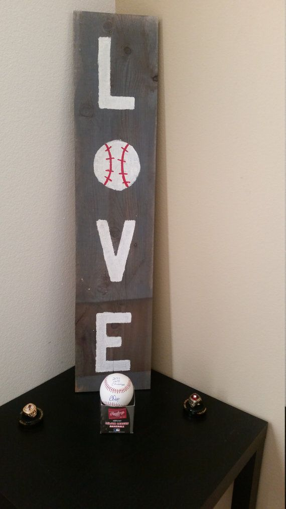 Best 25+ Baseball signs ideas on Pinterest | Baseball decorations ...