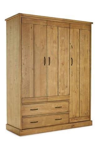 Buy Hoxton Triple Wardrobe from the Next UK online shop
