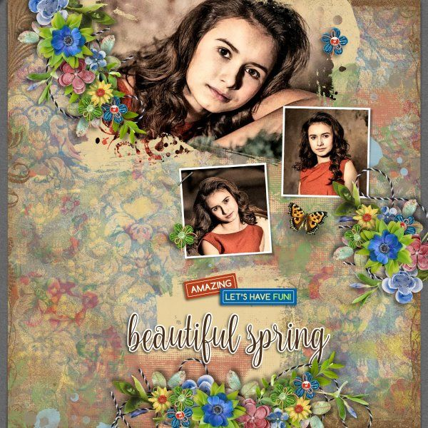 Kit Garden Party by Valentina Creations. New Template Garden party 3 by Heartstrings Scrap Art. Photos per kind favour of Anastasia Serdyukova Photography.