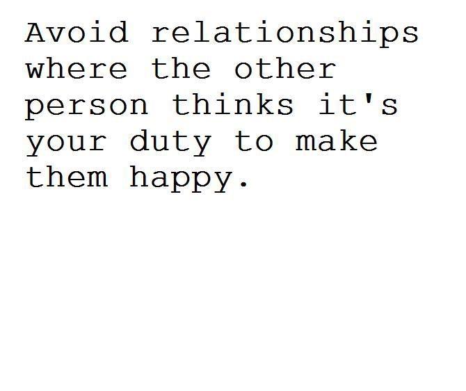 relationship with selfish men