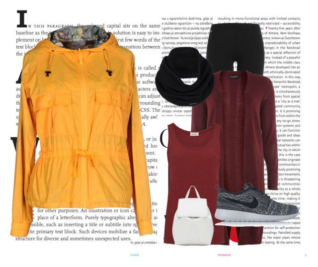 """""""fall#8"""" by tanttu-haapop on Polyvore featuring Oris, Roÿ Roger's, Polo Ralph Lauren, Dorothy Perkins, American Vintage, NIKE, prAna and Mansur Gavriel"""