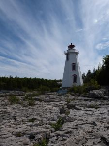 Big Tub Harbour Lighthouse, Tobermory, Bruce Peninsula, Canada