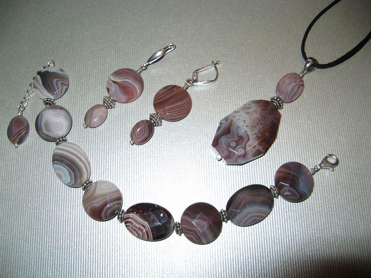 Botswana agate jewelry
