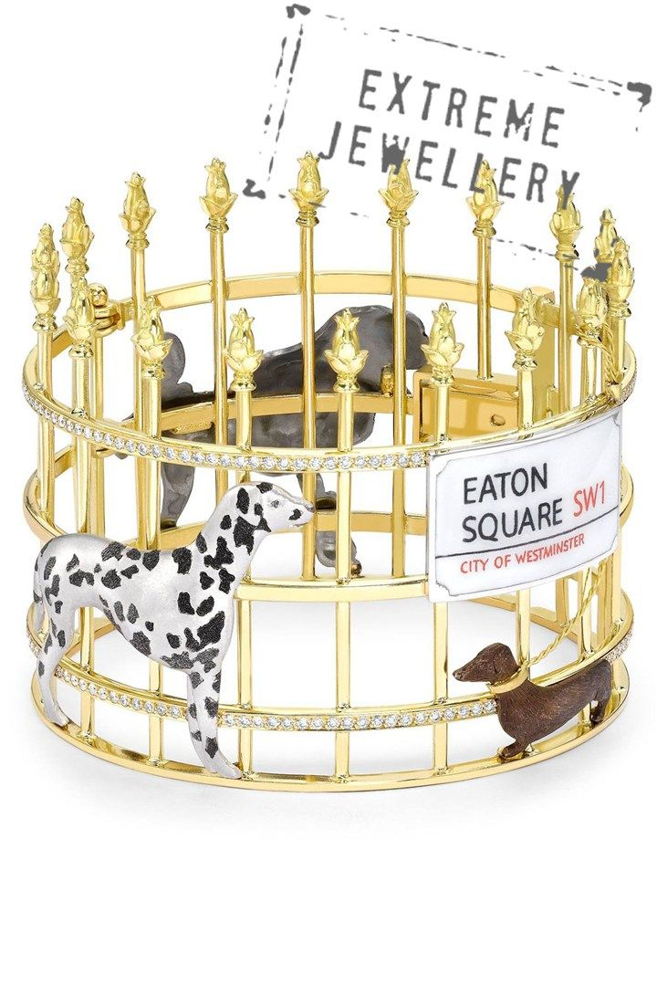 Theo Fennell Eaton Square and dogs bracelet - Fashion - Tatler