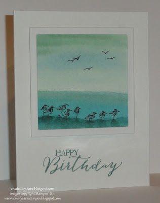 Simply Sara Stampin': Watercolored Wetlands - Stampin' Up!