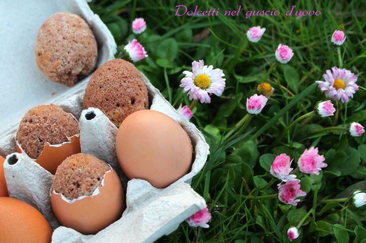 Dolcetti nel guscio d'uovo