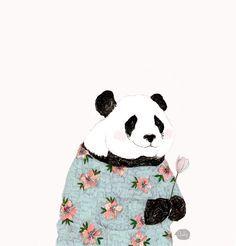 panda flower crown - Google Search